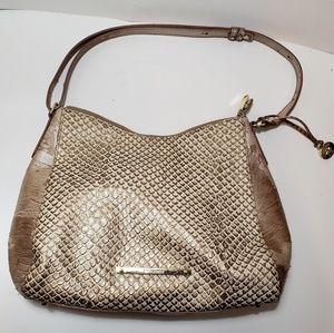 Brahmin Bronze Java handbag